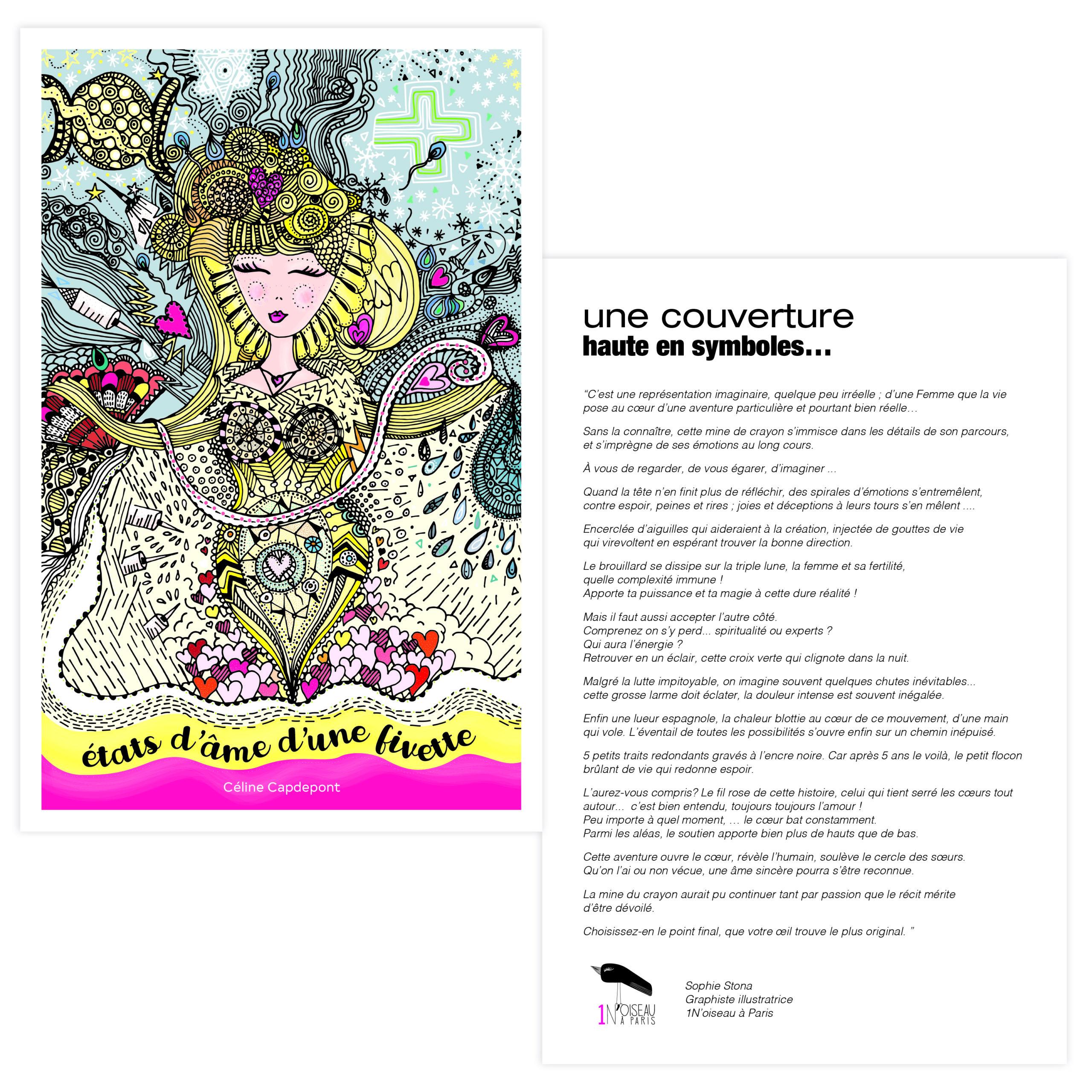 ILLUSTRATION-LIVRE-couverture - 1 Noiseau à Paris - Graphiste illustratrice Webdesigner Val de Marne