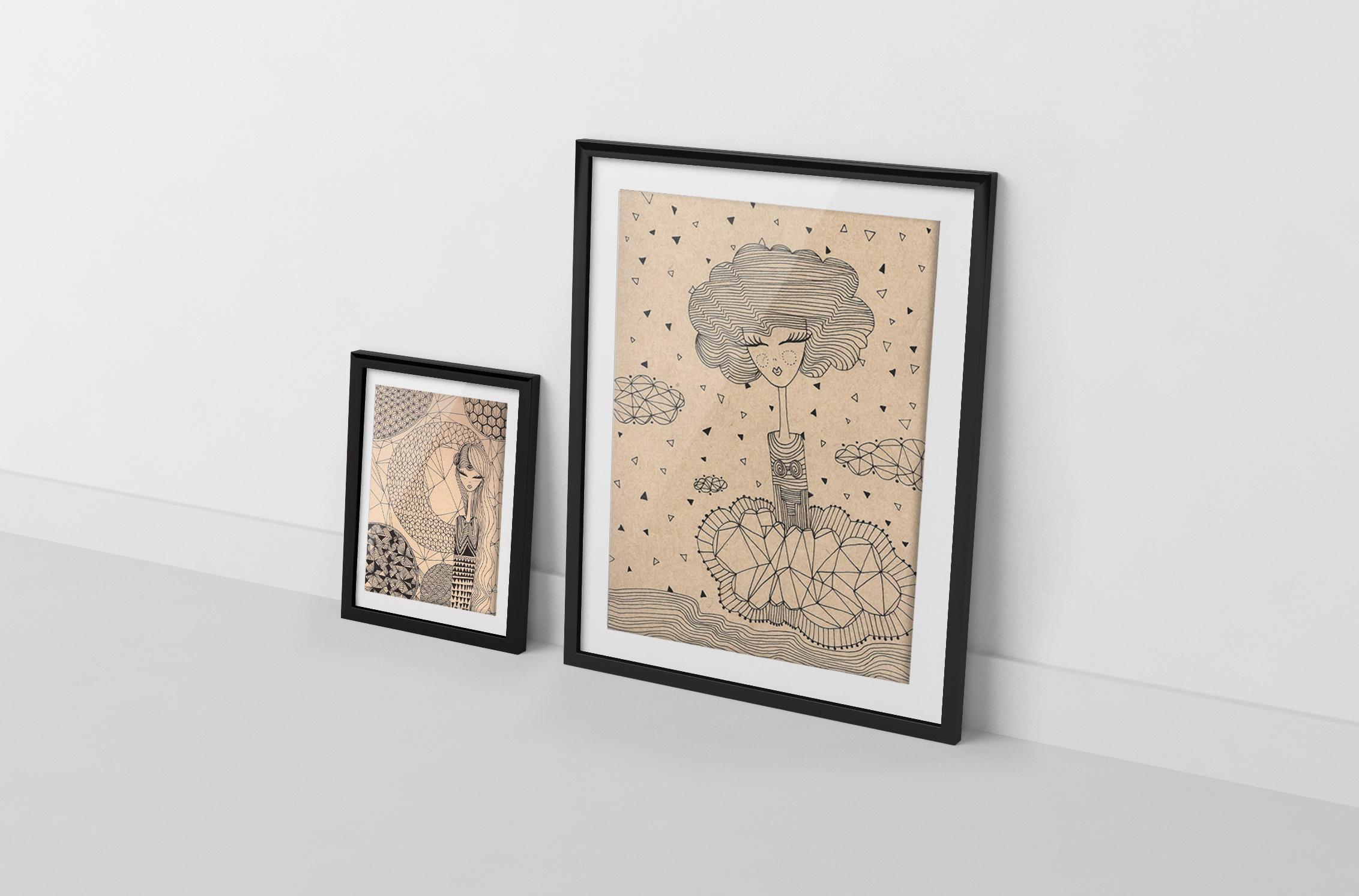 ILLUSTRATION-Papier-Art - 1 Noiseau à Paris - Graphiste illustratrice Webdesigner Val de Marne