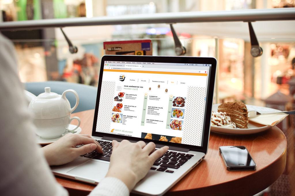 WEBDESIGN-site-restaurant - 1 Noiseau à Paris - Graphiste illustratrice Webdesigner Val de Marne